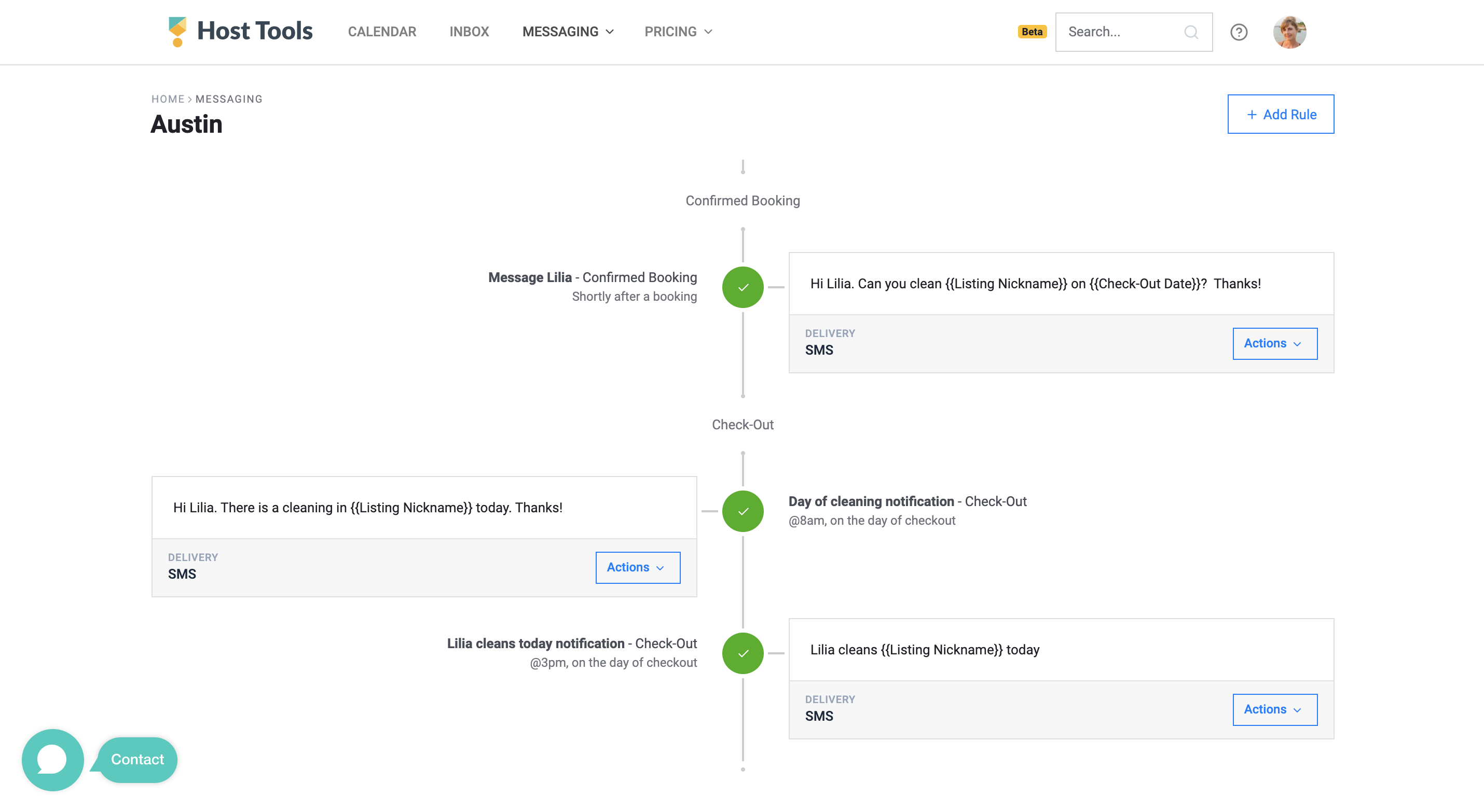 03 Cleaner notification message flow on Host Tools