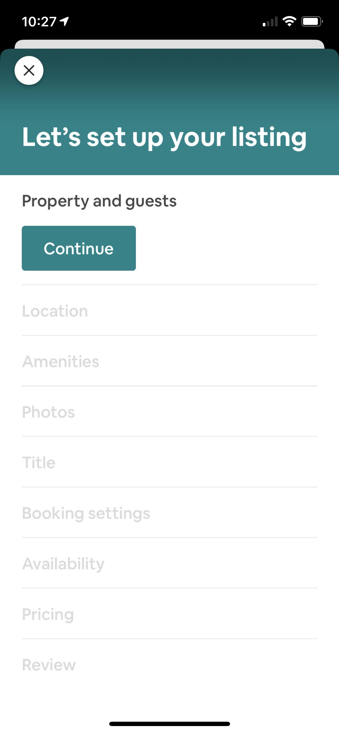 Create an Airbnb Listing